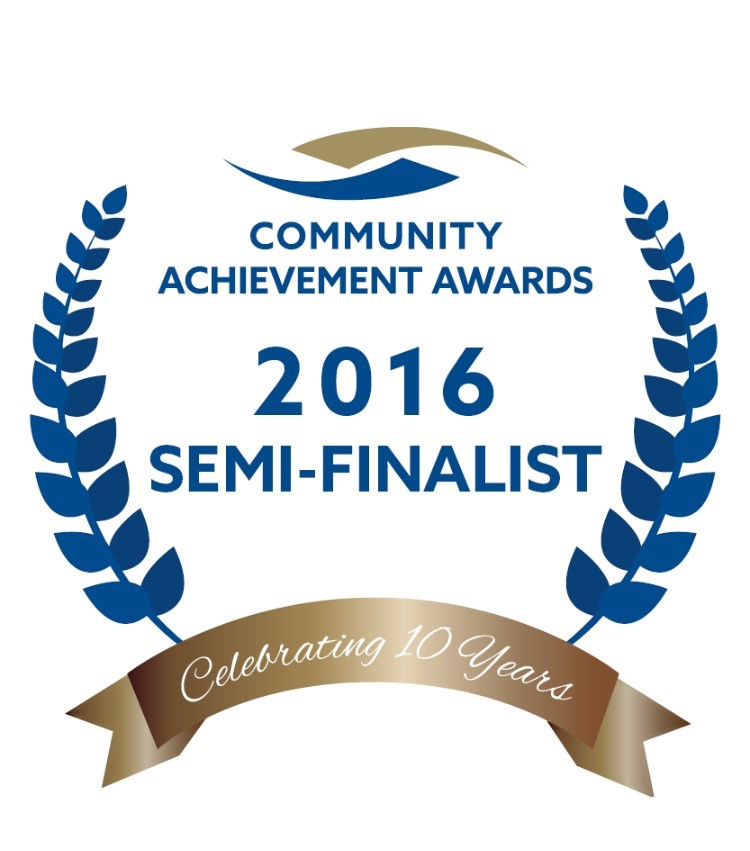 Community Achievement Awards 2016 Semi-Finalist