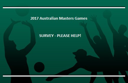 Survey for MASTERS - please pass on!